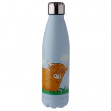 Highland Cow Stainless Steel Insulated Drinks Bottle